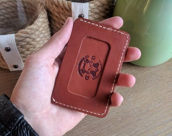 Minimalist ID Wallet, ID Wallet, Leather ID wallet, Id window wallet, personalized id wallet, mens id wallet, small id wallet, wallet id, id