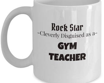Gym Teacher Mug | Gift for School Teacher | Present for Gym Teacher