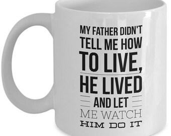 Dad Mug for Inspiration and Love