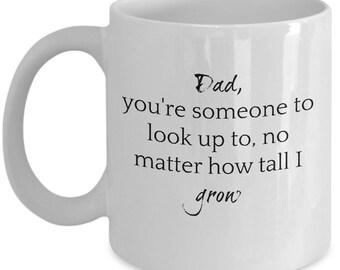 Inspirational Coffee Mug for Fathers
