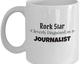 Journalist Coffee Mug | Best News Writer Gift | Tea Mug for Journalist