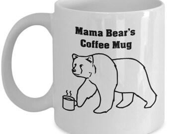 Mama Bear Coffee Mug | Gift for mother |