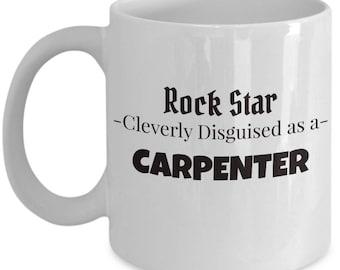 Carpenter Coffee Tea Mug | Gift for Woodworking
