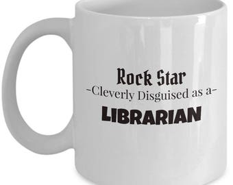 Librarian Coffee Mug | Tea Mug for Librarian | Library Worker Gift