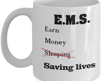 Paramedic gift | EMS Coffee Mug | EMT Gift | Gifts for Technician