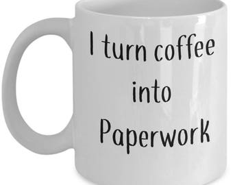 Admin Assistance Gift |  Coffee mug for Secretary