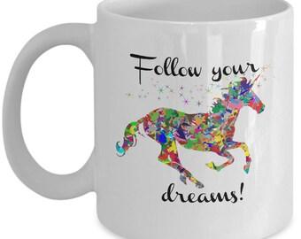 Cute Unicorn Mug | Unicorn Coffee Mug |  Gift for Her