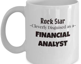 Financial Analyst Coffee Mug | Gift Tea Mug for Finance Analyst