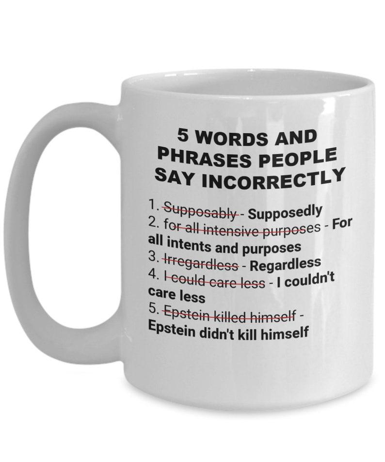 Epstein didn't kill himself Jeffrey Epstein meme EDKH | Etsy