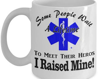 Paramedic Father Mother Gift |  Gift for EMT Parents | Coffee Mug for EMS
