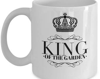 Fun Gift Mug for Men who Garden