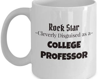College Professor Gift Coffee Mug | Present for College Instructor