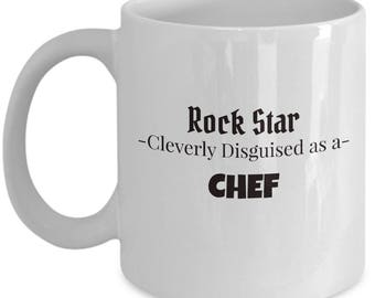 Chef Gift Coffee Mug | Present for Restaurant Chef