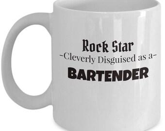 Bartender Coffee Tea Mug | Gift for Beer Server