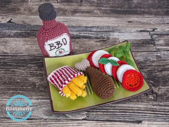 Amigurumi Food: Milk and Cookies for Santa New Crochet Pattern ...   428x570