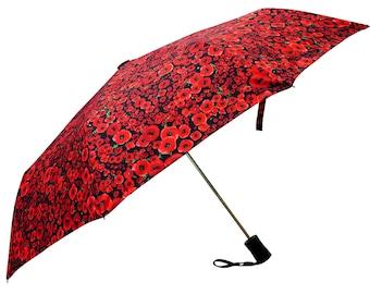 Foldable, Floral, Wind resilient designer Umbrellas