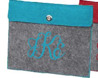 Monogrammed Tablet Case