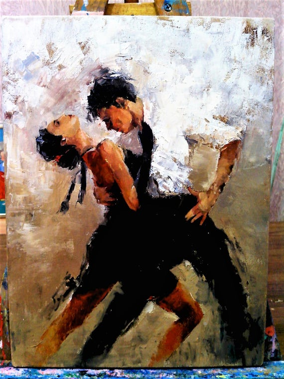 Items Similar To Dance Painting Oil Paintings Erotic Art