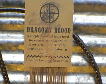 """Dragons Blood Incense Sticks """"Ritual Collection"""""""
