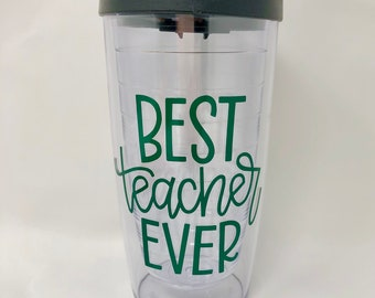 Best teacher ever coffee mug, Teacher appreciation gift, back to school