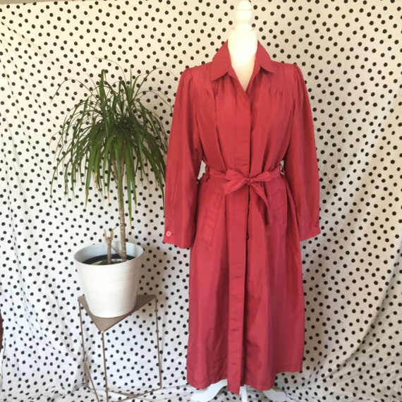 London Fog Maincoats 2-in-1 rose trench, removable