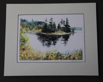 Carver Pond, Vinalhaven, Maine