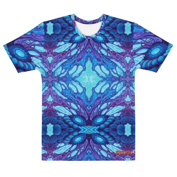 indigo plasma T-shirt