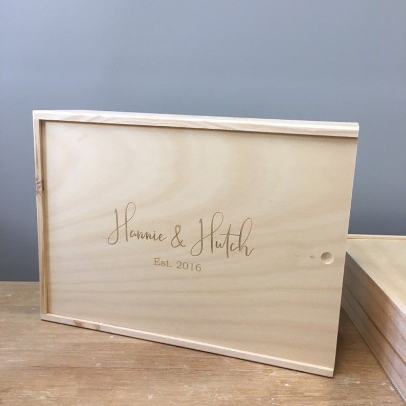 Custom Keepsake Box For Couples Personalized Keepsake Box For Couples Wedding Memory Box Engagement Gift Box