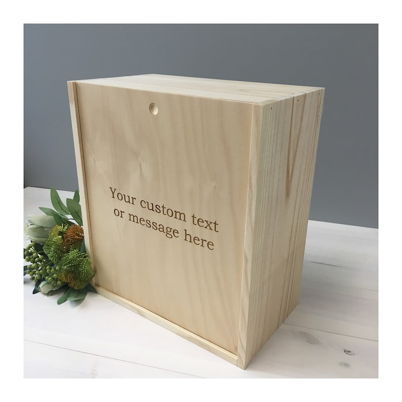 6 Bottle 2x3 Wooden Wine Box Wooden Gift Box Wine Box