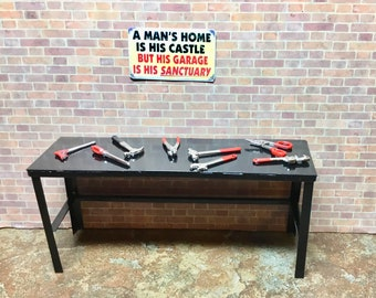 Admirable Dollhouse Work Table Etsy Creativecarmelina Interior Chair Design Creativecarmelinacom