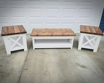 Coffee End Tables Etsy