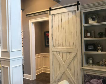 Sliding Barn Door Farmhouse Style Rustic Fixer Upper HGTV. Low Shipping Cost