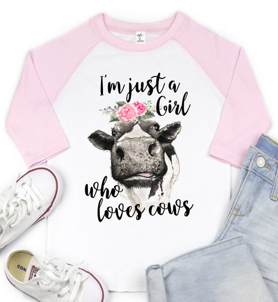 Im just a boy who loves cows INFANT TODDLER hoodie Tshirt
