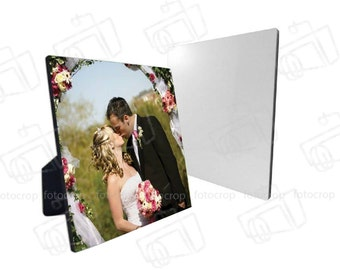 Personalized Photo Frame 5x7 Custom Your Pictures Text Name gift  wedding New!