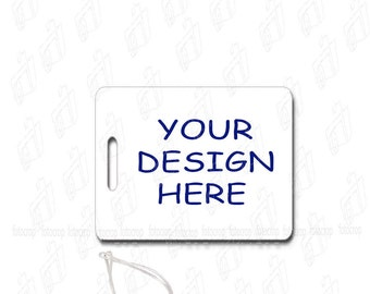 Personalized Luggage Bag Custom Tag Travel Backpack Photo Logo Text New Gift