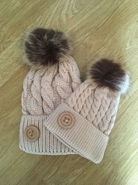 Mommy and Me Hats Mother Daughter Hats matching outfit mom and  e9c818097cc