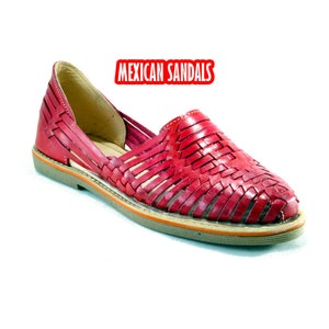 Fine leather mexican sandals for woman huaraches waistbands Tan Whiskey Custom Sandals MDS-004