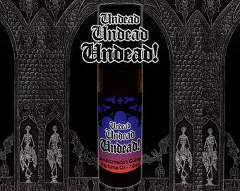 Undead, Undead, UNDEAD! - Clove, Incense, Musk - Rollerball Perfume Oil - 5ml, 10ml, 30ml - Vegan