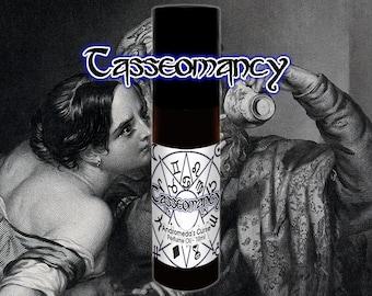 Tasseomancy - Black Tea, Incense, Amber -   Rollerball Perfume Oil - 5ml, 10ml, 30ml - Vegan