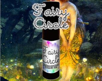 Fairy Circle - Fungi, Flowers, Ferns -  Rollerball Perfume Oil - 5ml, 10ml, 30ml - Vegan
