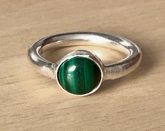 Malachite Ring (Size N)