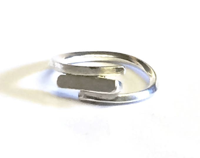 Contemporary Rod Adjustable Ring