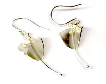 Stylised Lily Earrings