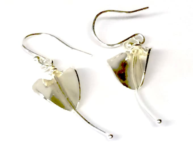 Stylised Lily Earrings