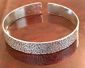 Hammered Finish Cuff Bang...