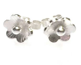 Cherry Blossom Style Stud Earrings