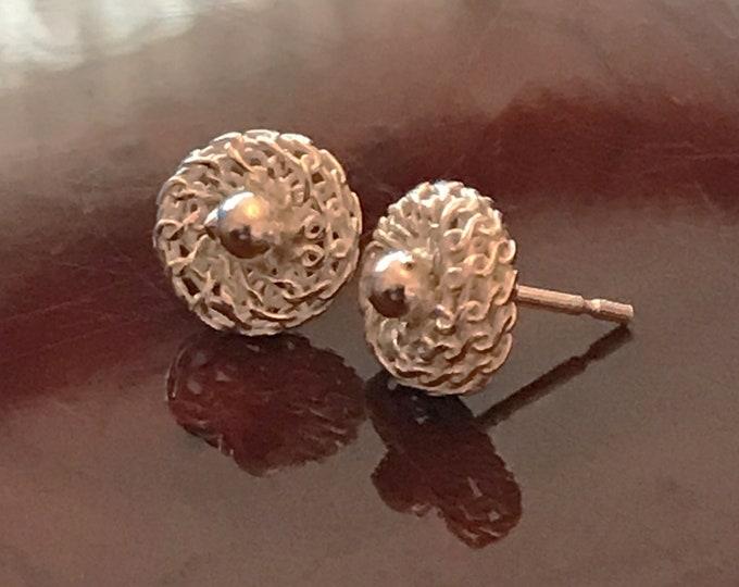 Gypsophilla Flower Stud Earrings