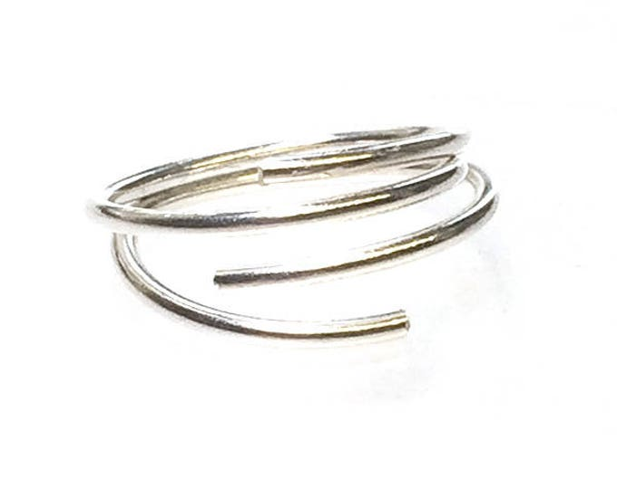 Contemporary Double Adjustable Ring