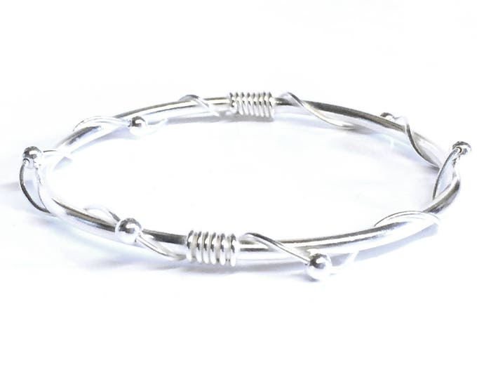 Bead Twist Bangle