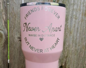 Friends forever tumbler by Drink Unique
